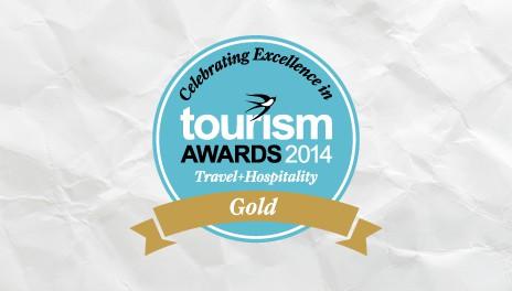GOLD AWARD AT TOURISM AWARDS