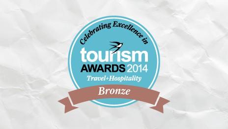 Bronze Award at Tourism Awards